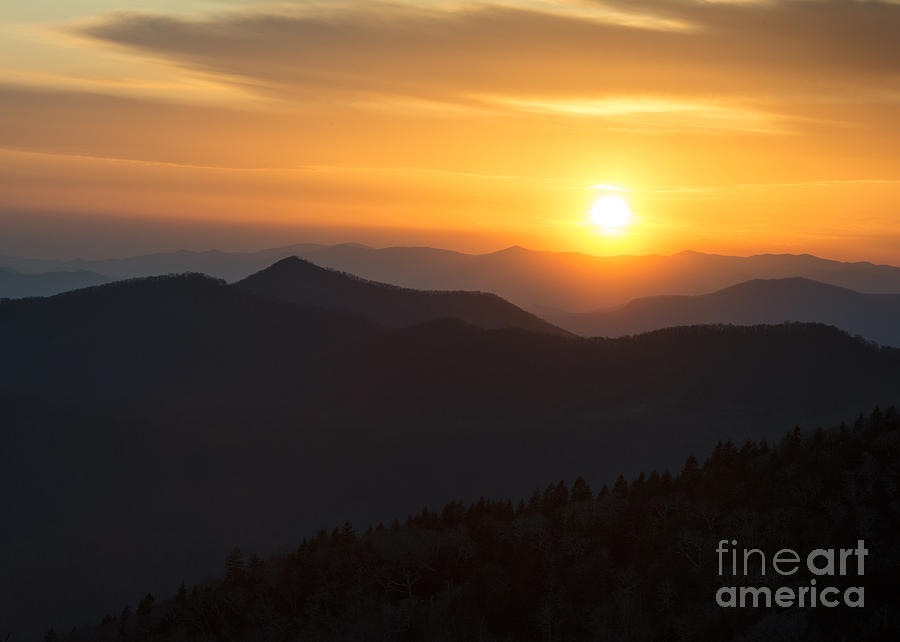 Sunset on the Parkway by Louise St Romain
