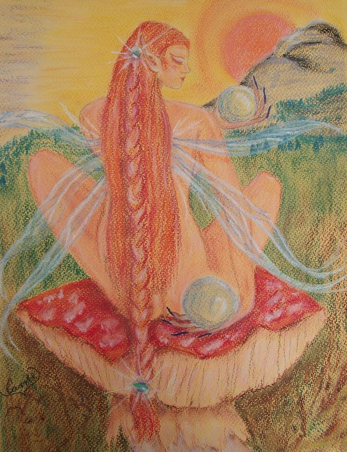 Faerie Pastel - Sunset Orbs by Carrie Viscome Skinner