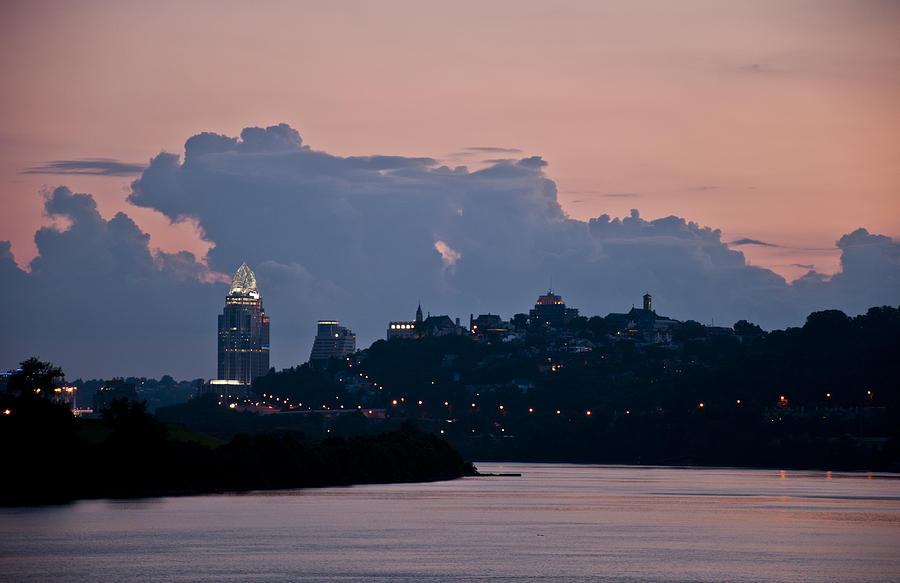 Sunset Over Cincinnati by Russell Todd