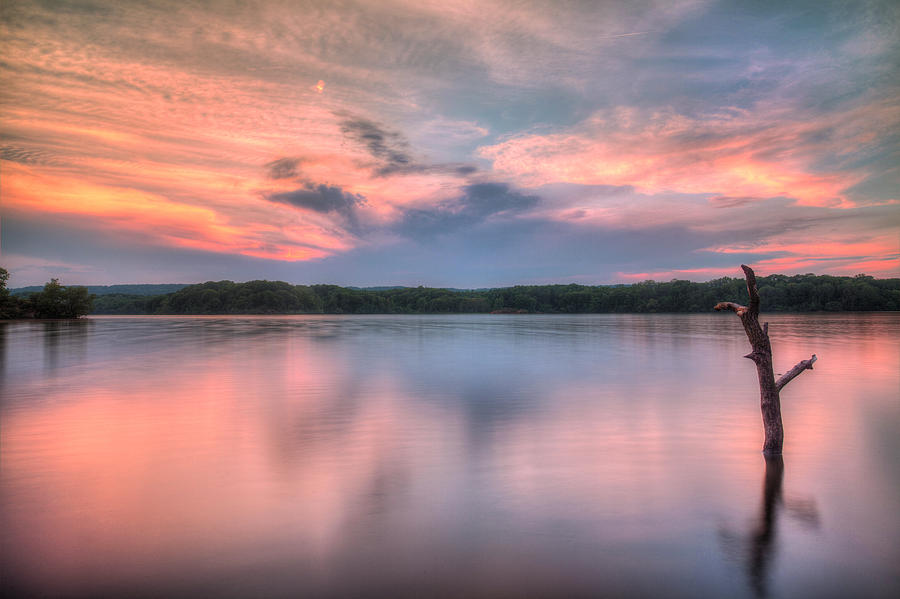 Canada Photograph - Sunset Over Cootes by Craig Brown