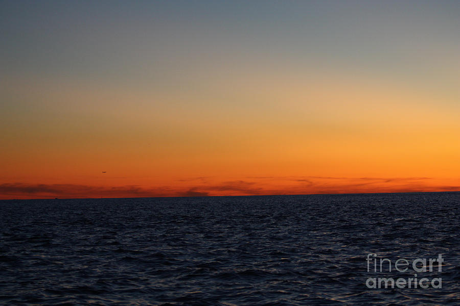 Telfer Photograph - Sunset Over Point Lookout by John Telfer