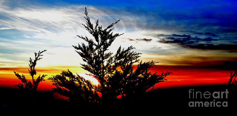 Jim Fitzpatrick Photograph - Sunset Overlooking Pacifica Ca V by Jim Fitzpatrick