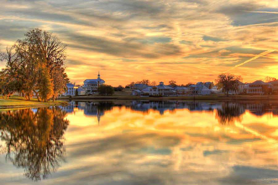 Alabama Photograph - Sunset Reflections by Leslie Kirk