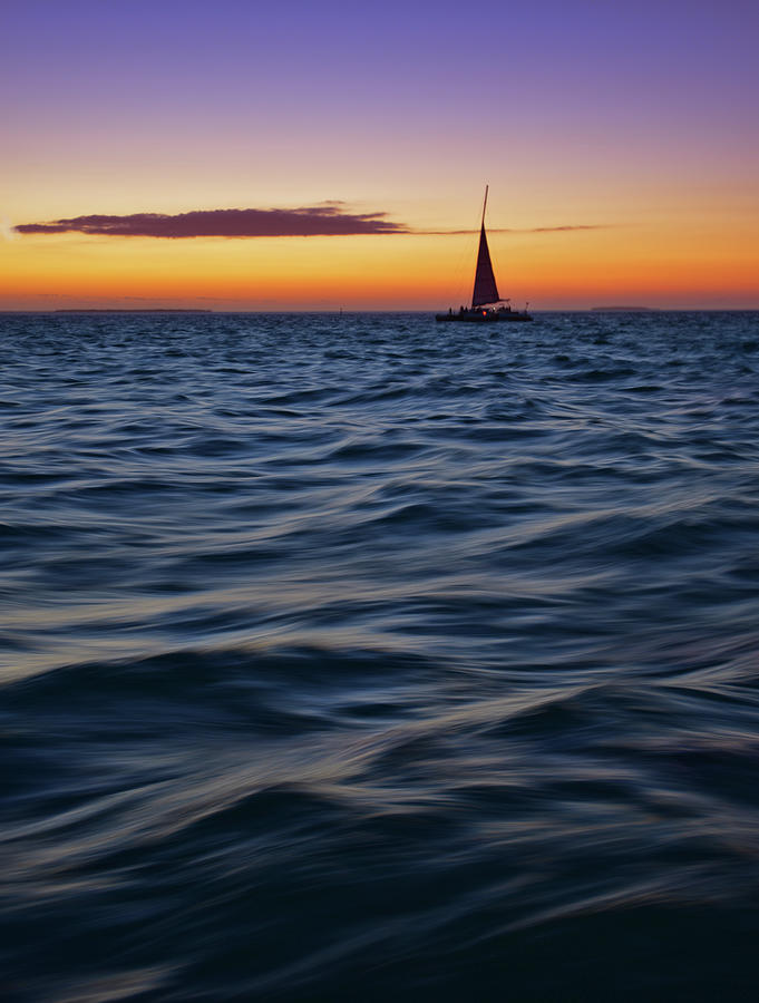 Sunset Sail Photograph by Photography By Susan Hall Frazier
