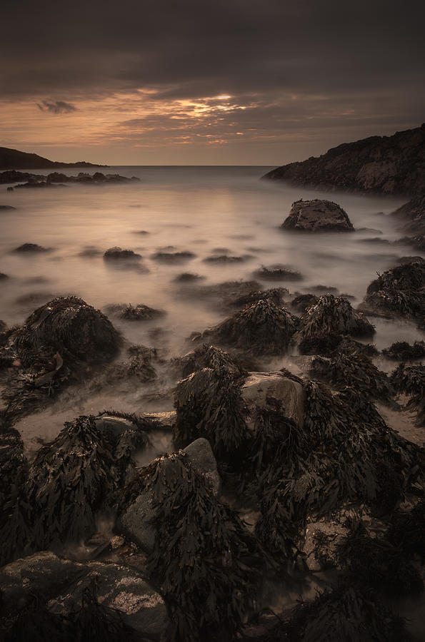Anglesey Photograph - Sunset Seascape by Andy Astbury