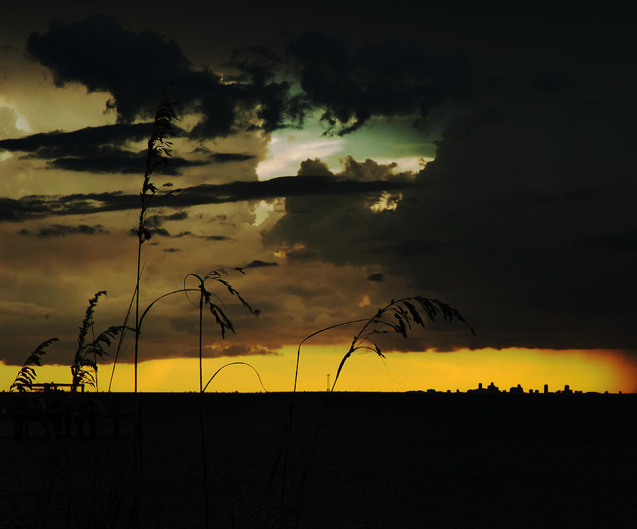 Sunset Photograph - Sunset Silhouette by Norman Johnson
