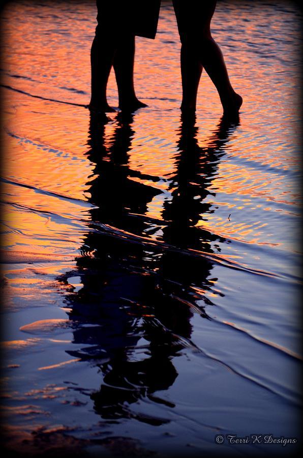 Sunset Photograph - Sunset Silhouette by Terri K Designs