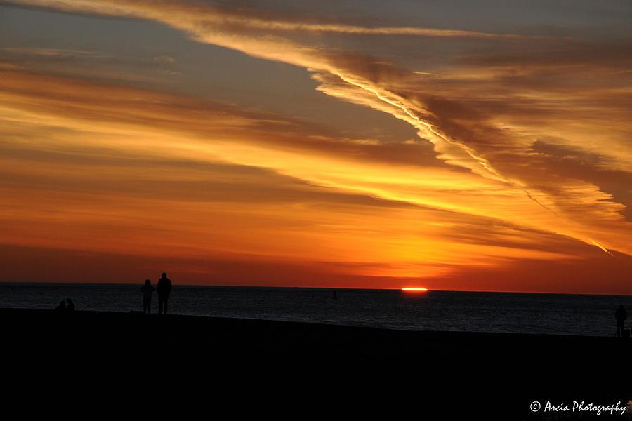 Sunset Sliver by Ken Arcia