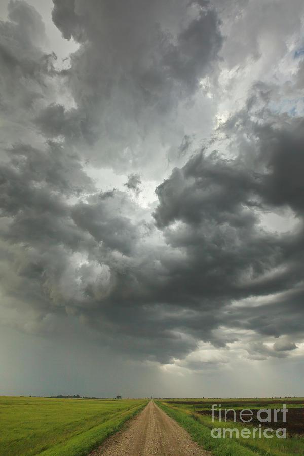 Sunset Storm Clouds Billowing Photograph by Yva Momatiuk John Eastcott