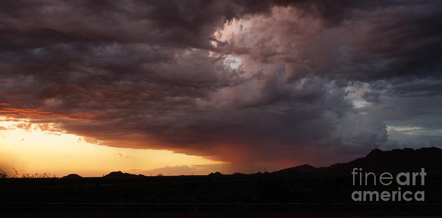 Sunset Storm by Kerri Mortenson