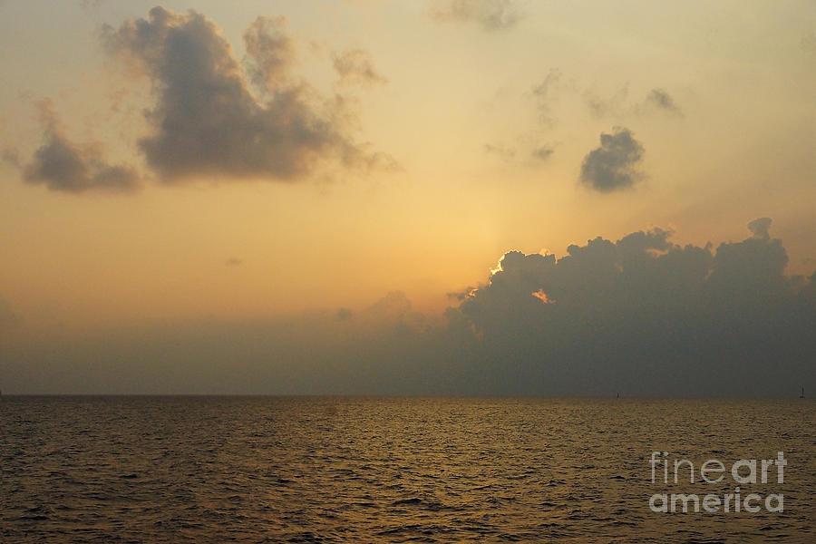Oahu Island Hawaii Digital Art - sunset time Oahu by Nur Roy
