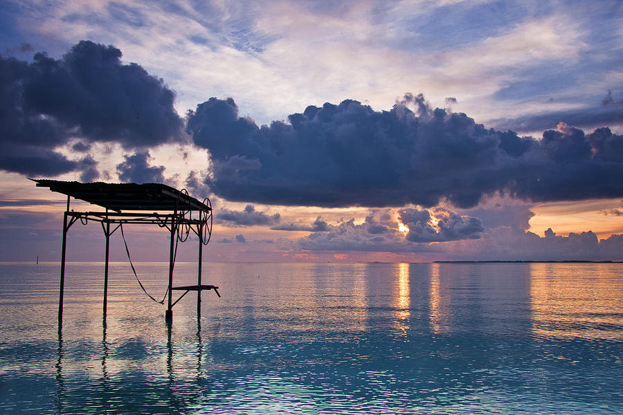 Sunset Tranquility Photograph