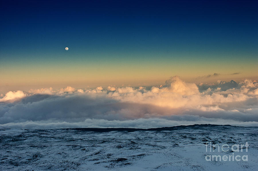 Snow Photograph - Sunset Very High by Karl Voss