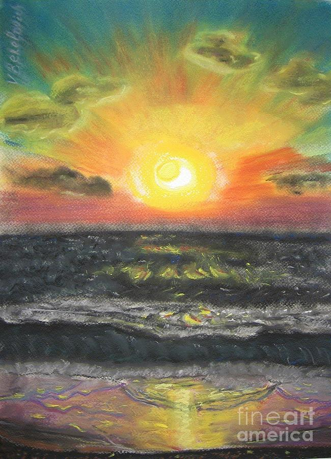 Sun Pastel - Sunset by Victor Berelovich