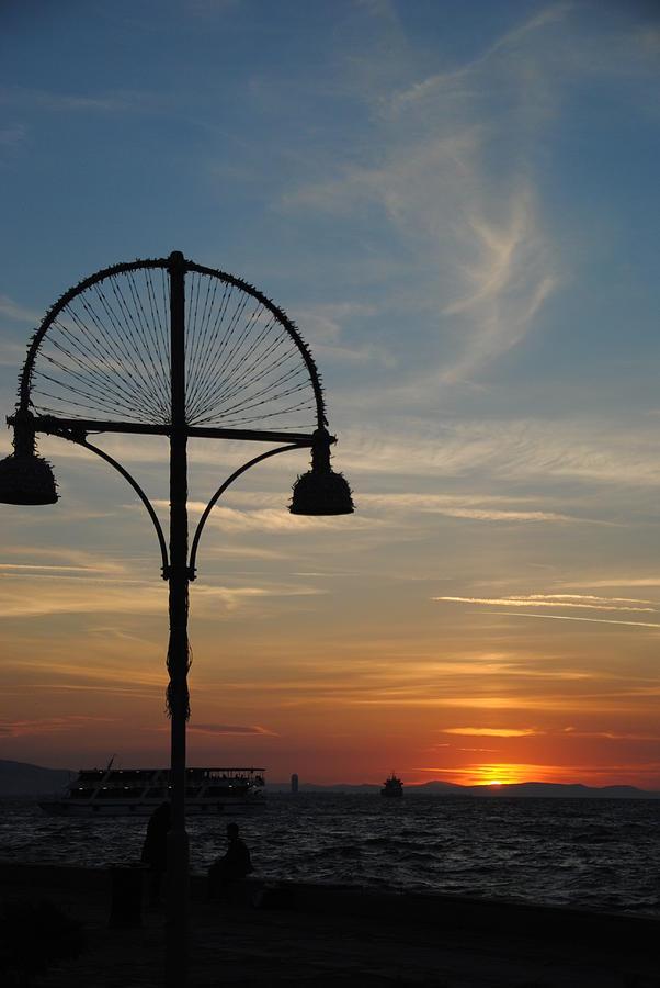Izmir Photograph - Sunset View From Kordon - Izmir by Jacqueline M Lewis