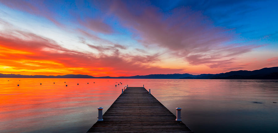 Sunset Photograph - Sunset Walkway by Edgars Erglis
