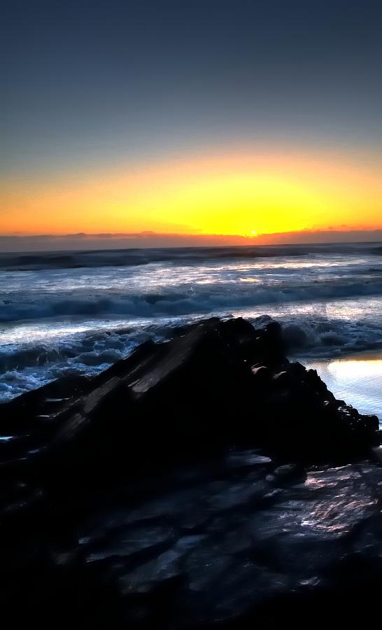 Sunset Waves 17856 Photograph