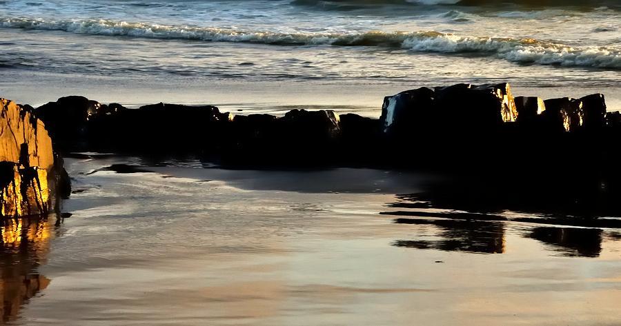 Sunset Waves17803 Photograph