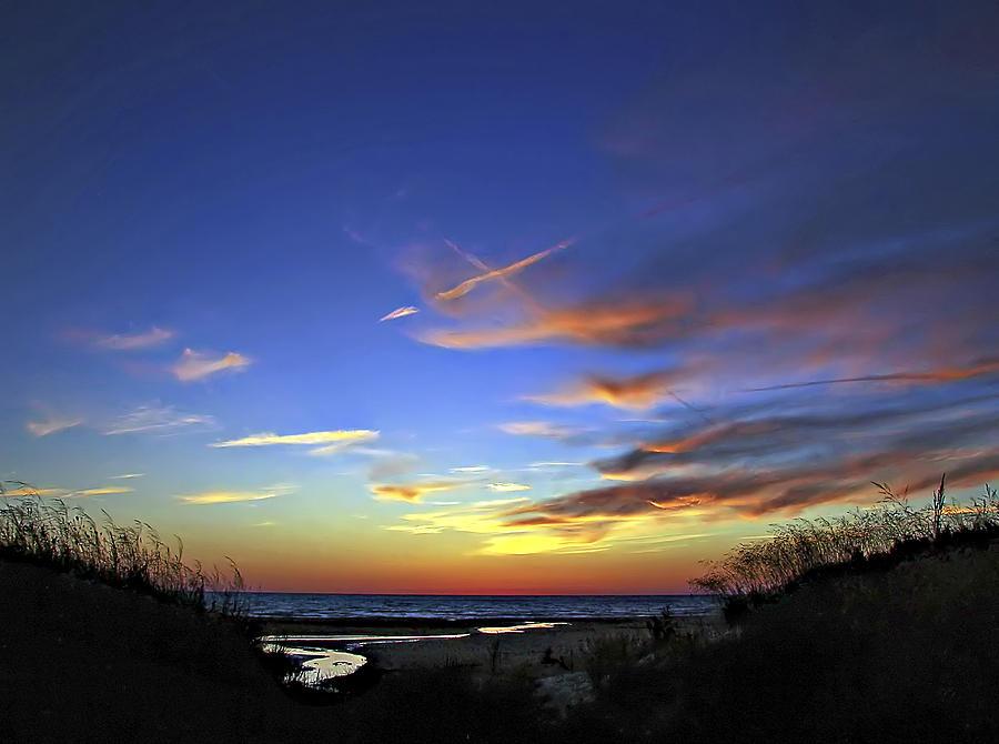 Sauble Beach Photograph - Sunset X by Steve Harrington