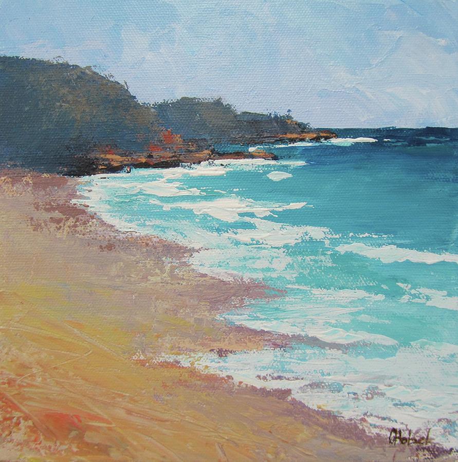 Sunshine Beach and Lions Head Noosa Heads Queensland by Chris Hobel