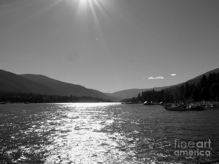 Sunshine Photograph - Sunshine Beams by Leone Lund
