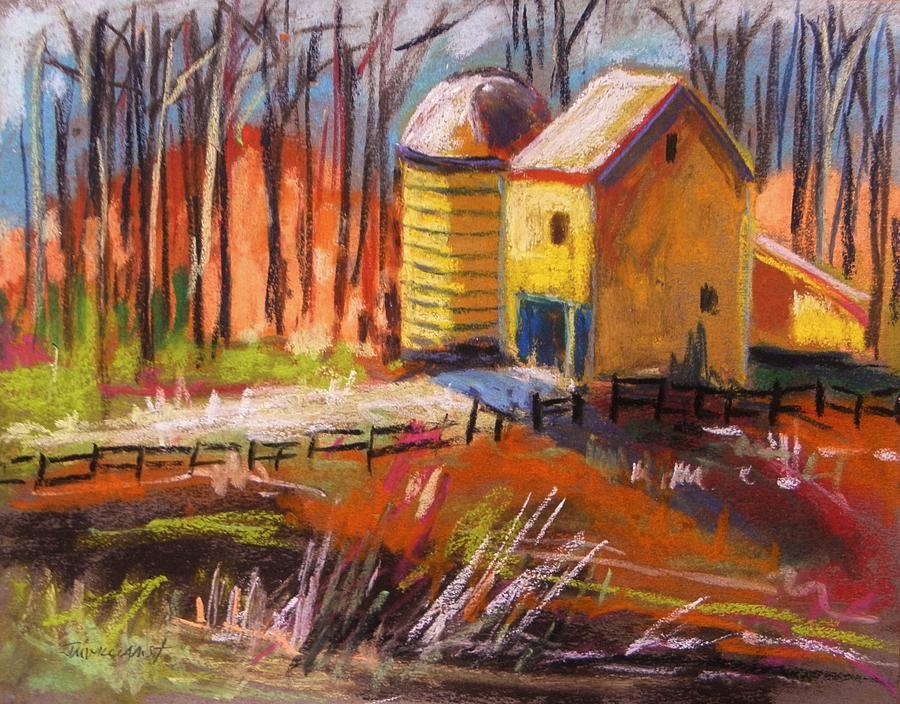 Pastels Painting - Sunshine Farm by John Williams