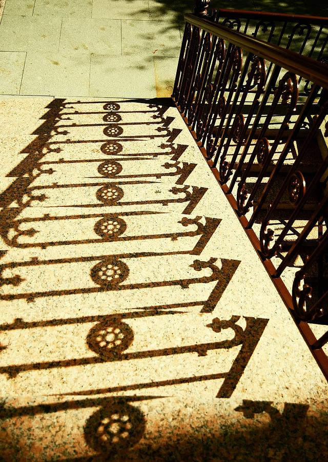 Jersey Photograph - Sunstairs by JAMART Photography