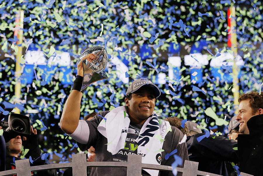 Super Bowl Xlviii - Seattle Seahawks V Photograph by Kevin C. Cox