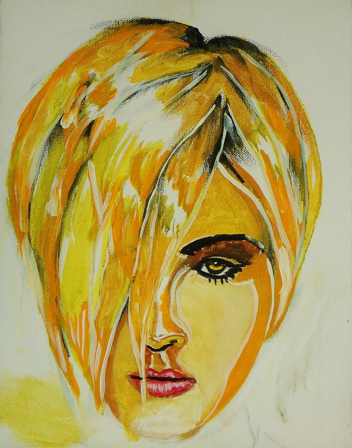 Super Model Greeting Cards Painting - Super Mod 11 by Michael Henzel