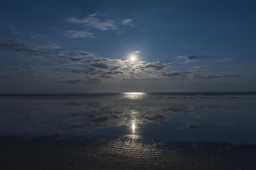 Super Moon Burst Sea Isle City Nj Photograph