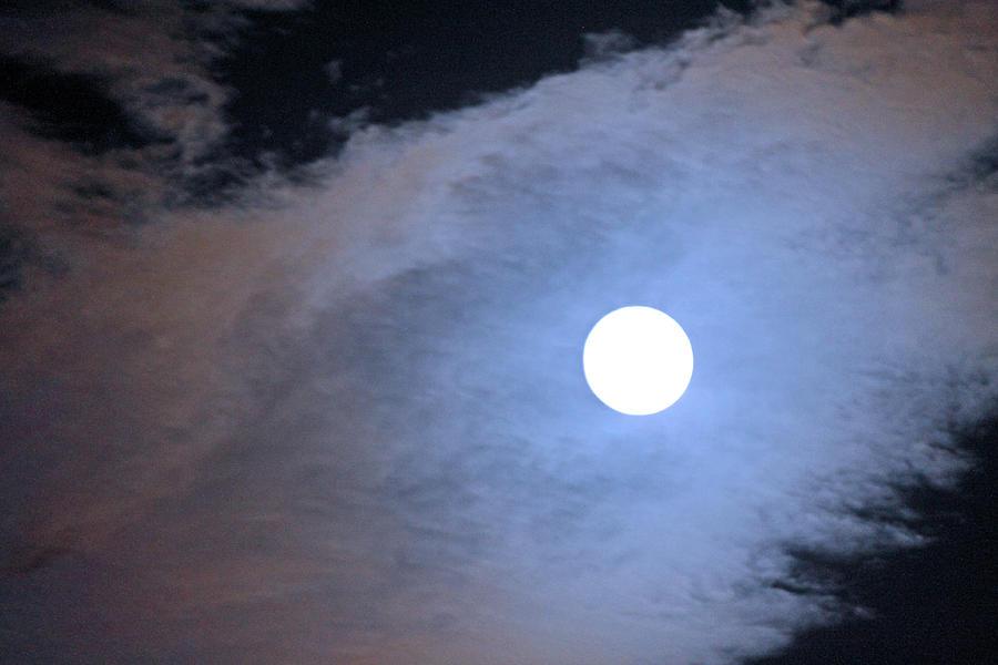 Moon Photograph - Super Moon by Carolyn Ricks