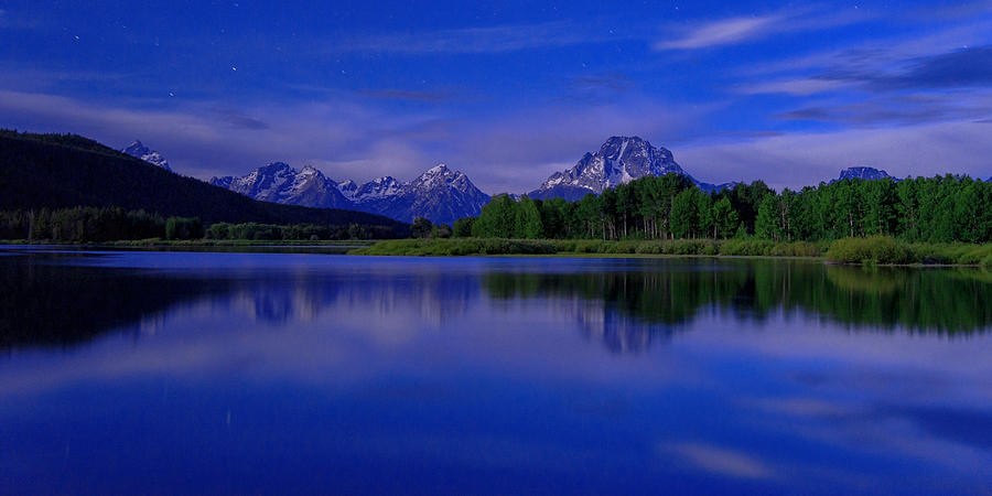 Nature Photograph - Super Moon by Chad Dutson