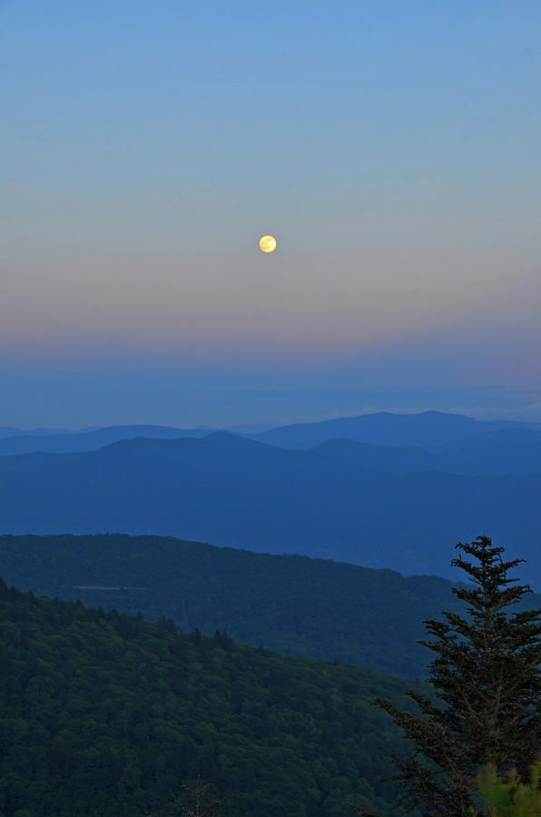 Super Moon Photograph - Super Moon by Mary Anne Baker