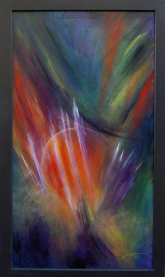 Aleins Painting - Super Nova by Thomas Lupari