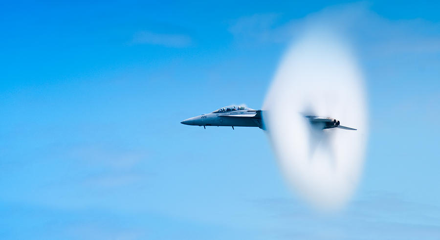 F18 Photograph - Super Sonic by Sebastian Musial