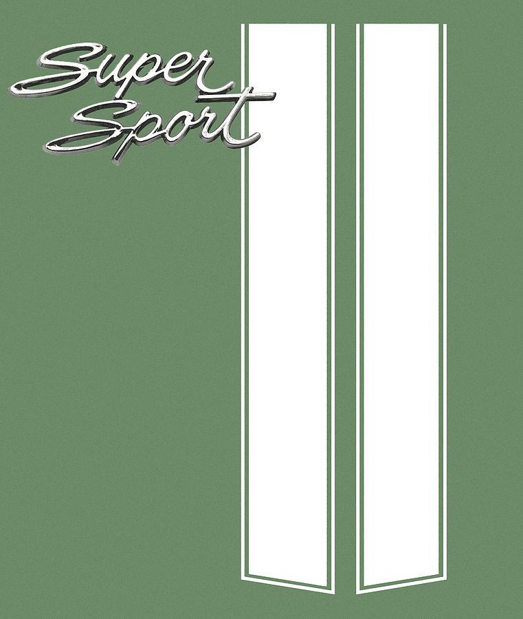 Super Sport Digital Art - Super Sport Green by Gabe Arroyo