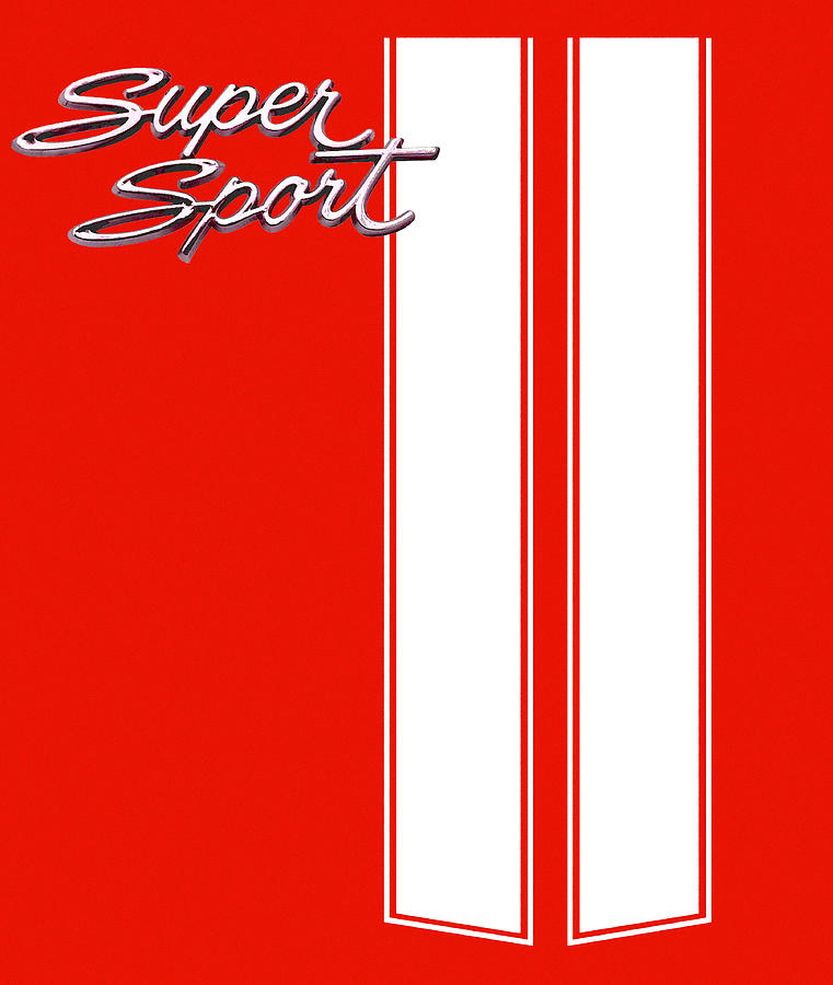 Super Sport Digital Art - Super Sport Red by Gabe Arroyo