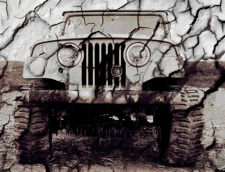 Jeep Photograph - Super Swamper Commando by Luke Moore