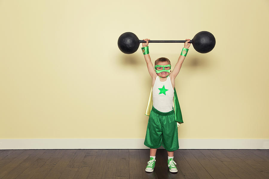 Superhero Training Photograph by Richvintage
