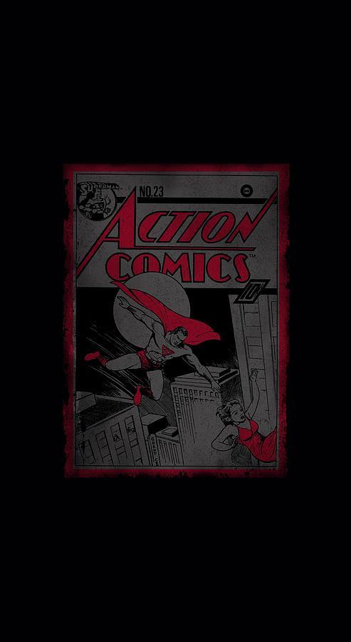 Superman Digital Art - Superman - Action Comics 23 by Brand A
