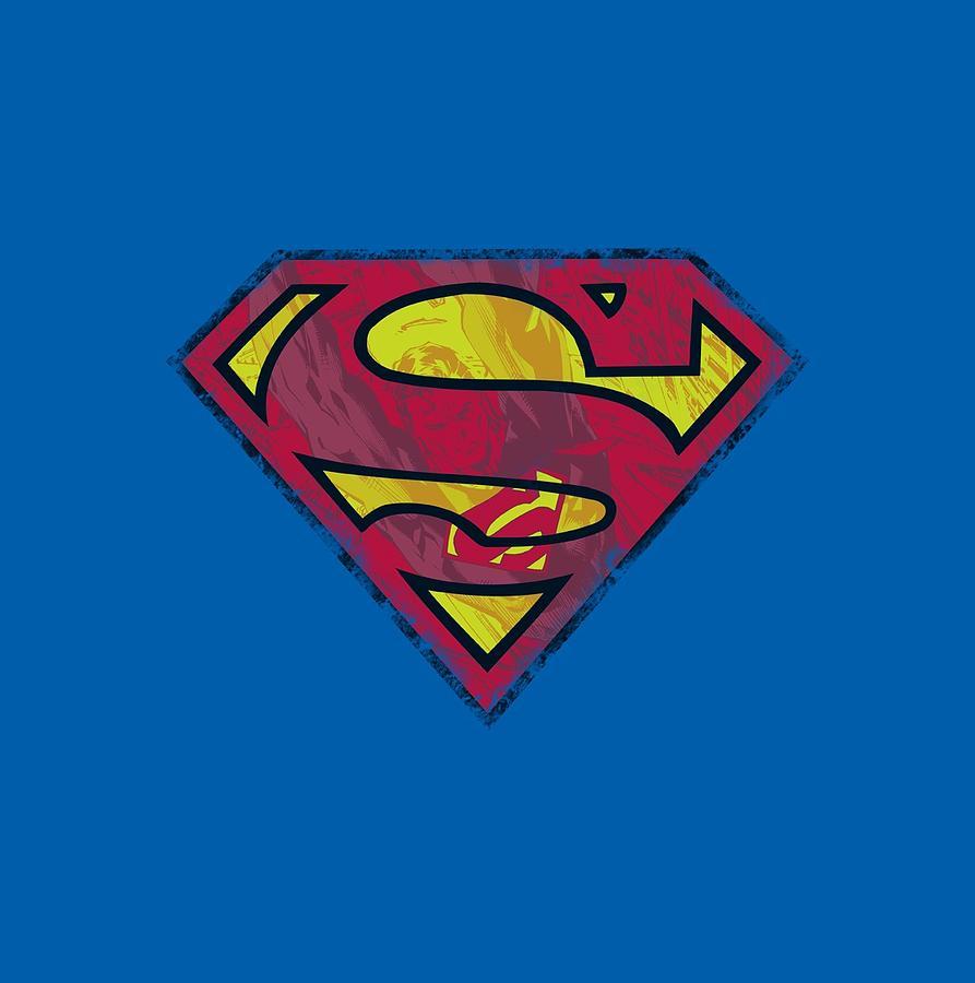 Superman Digital Art - Superman - Action Shield by Brand A