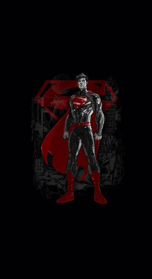 Superman Digital Art - Superman - Aftermath by Brand A