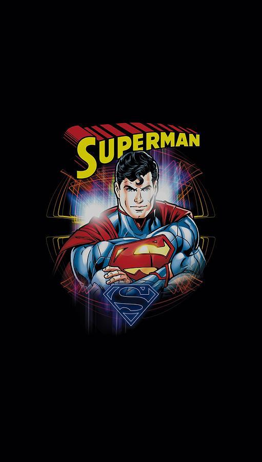 Superman Digital Art - Superman - Glam by Brand A