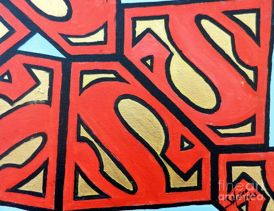 Superman Painting - Superman by Juan Molina