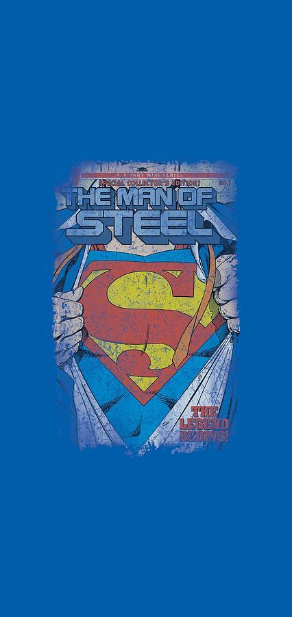 Superman Digital Art - Superman - Legendary by Brand A
