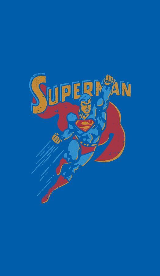 Superman Digital Art - Superman - Life Like Action by Brand A