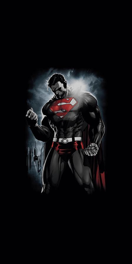Superman Digital Art - Superman - Light Of The Sun by Brand A