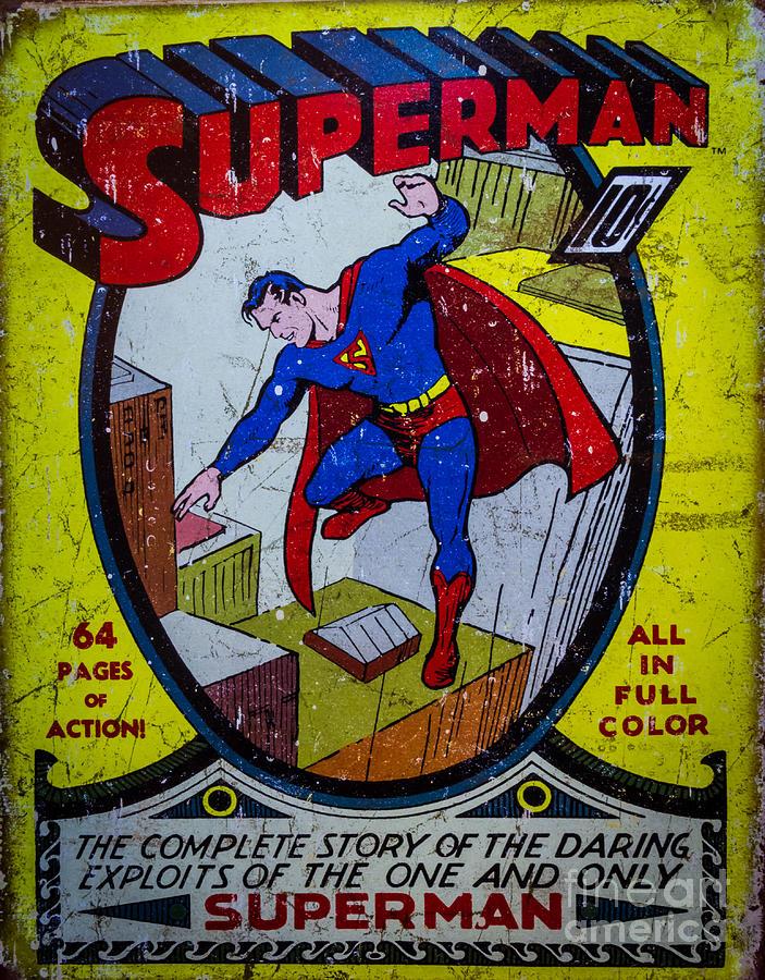 Superman Photograph - Superman by Mitch Shindelbower