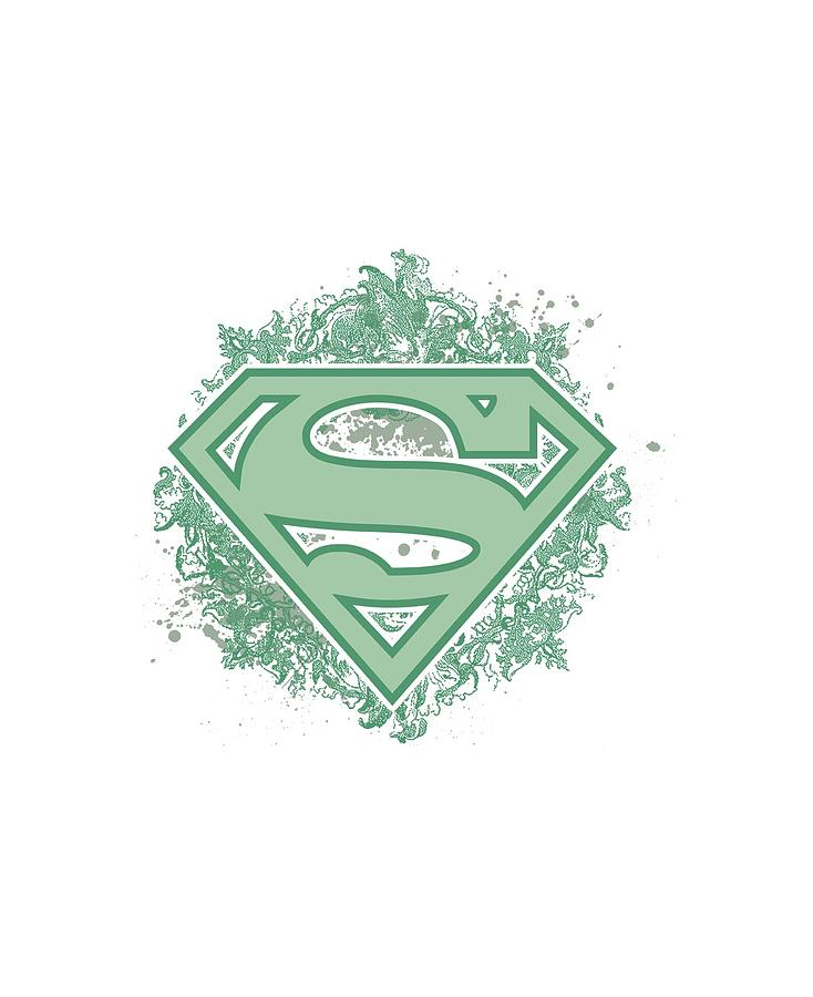 Superman Digital Art - Superman - Ornate Shield by Brand A