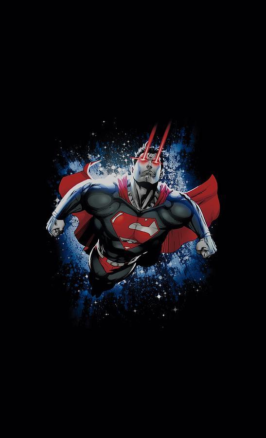 Superman Digital Art - Superman - Stardust by Brand A